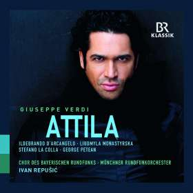 Giuseppe Verdi (1813-1901): Attila, CD