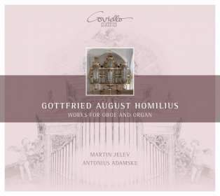 Gottfried August Homilius (1714-1785): Musik für Oboe & Orgel, CD