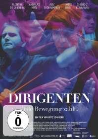 Götz Schauber: Dirigenten - Jede Bewegung zählt! (OmU), DVD