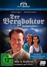Celino Bleiweiß: Der Bergdoktor (Komplette Serie 1992-1999), DVD