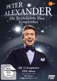Wolfgang Rademann: Die Peter Alexander Spezialitäten Show (Komplettbox), DVD