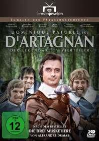 Claude Barma: D'Artagnan (1969), DVD