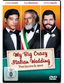 Alessandro Genovesi: My Big Crazy Italian Wedding, DVD