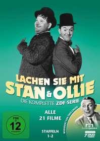 Hal Roach: Lachen Sie mit Stan & Ollie (ZDF-Gesamtedition), DVD