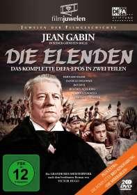 Jean-Paul Le Chanois: Die Elenden / Die Miserablen, DVD
