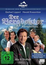 Andreas Drost: Der Bergdoktor (Komplettbox), DVD