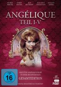 Bernard Borderie: Angélique (Gesamtedition), DVD