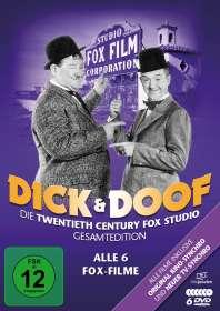 Dick und Doof - Die Fox-Studio-Gesamtedition (Alle 6 Fox-Filme), DVD