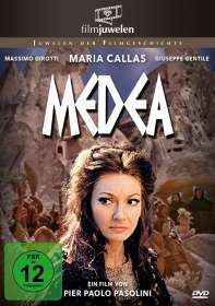 Pier Paolo Pasolini: Medea, DVD