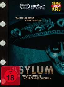Asylum: Irre-phantastische Horror-Geschichten (Blu-ray & DVD im Mediabook), BR