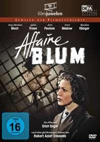 Erich Engel: Affaire Blum (Affäre Blum), DVD