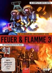 Feuer & Flamme - Mit Feuerwehrmännern im Einsatz Staffel 3, DVD