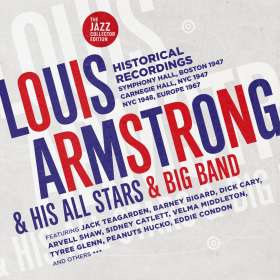 Louis Armstrong (1901-1971): Louis Armstrong & His All Stars & Big Band, CD