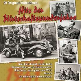 Hits Der Wirtschaftswunderjahre, CD