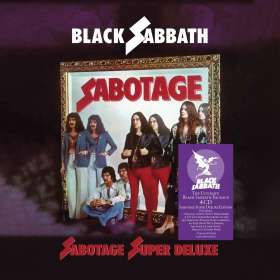 Black Sabbath: Sabotage (Super Deluxe Box Set), CD