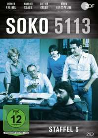 Ulrich Stark: SOKO 5113 Staffel 5, DVD