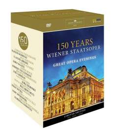 150 Jahre Wiener Staatsoper - Great Opera Evenings, DVD