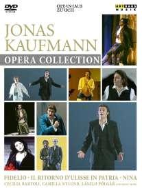 Jonas Kaufmann – Opera Collection (3 Opern aus dem Opernhaus Zürich / Arthaus), DVD
