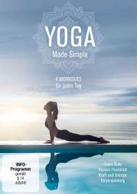YOGA Made Simple - 4 Workouts für jeden Tag, DVD