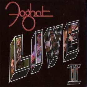 Foghat: Live II, CD