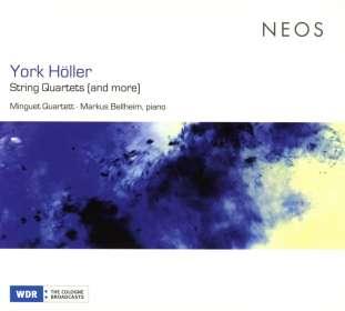 York Höller (geb. 1944): Kammermusik für Streichquartett, CD
