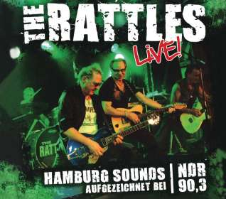 The Rattles: Live ! 2010, CD