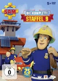Feuerwehrmann Sam Staffel 9, DVD