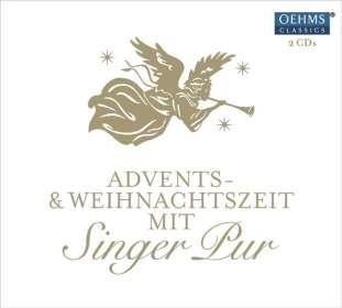 Singer Pur  - Adventskalender 2016 - Advents- & Weihnachtszeit mit Singer Pur, CD