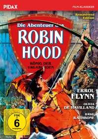 Michael Curtiz: Die Abenteuer des Robin Hood (König der Vagabunden), DVD