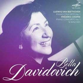 Bella Davidovich spielt Klavierkonzerte, CD
