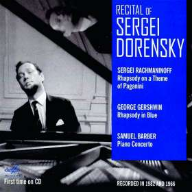 Recital of Sergei Dorensky, CD