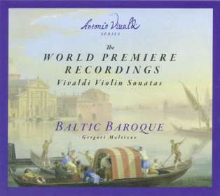 Antonio Vivaldi (1678-1741): Sonaten für Violine & Bc, CD