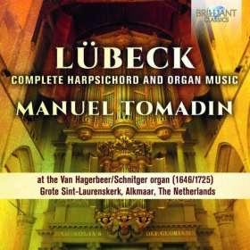 Vincent Lübeck (1654-1740): Sämtliche Werke für Orgel & Cembalo, CD