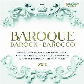 Baroque - Barock - Barocco, CD