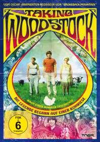 Ang Lee: Taking Woodstock, DVD