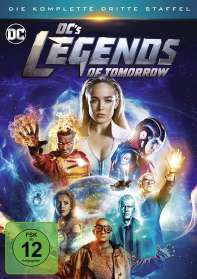 DC's Legends of Tomorrow Staffel 3, DVD