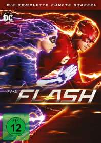 The Flash Staffel 5, DVD