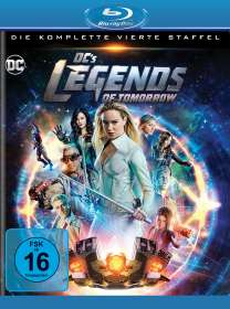 DC's Legends of Tomorrow Staffel 4 (Blu-ray), BR