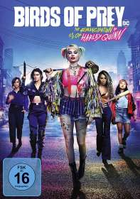 Cathy Yan: Birds of Prey - The Emancipation of Harley Quinn, DVD