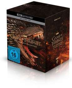 Game of Thrones (Komplette Serie) (Ultra HD Blu-ray), UHD