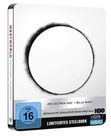 Westworld Staffel 3 (Ultra HD Blu-ray & Blu-ray im Steelbook), UHD