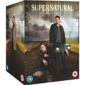 Supernatural Season 1-8 (UK Import), DVD