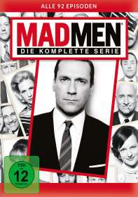 Mad Men (Komplette Serie), DVD