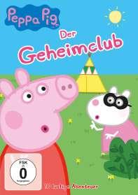 Peppa Pig Vol. 14: Der Geheimclub, DVD