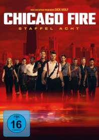 Chicago Fire Staffel 8, DVD