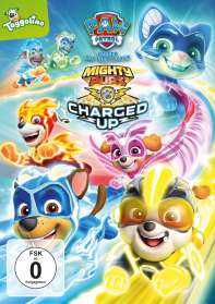 Paw Patrol: Mighty Pups Charged Up!, DVD