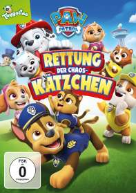 Paw Patrol: Rettung der Chaos-Kätzchen, DVD