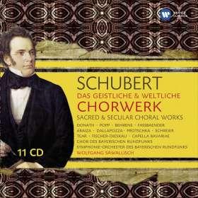 Franz Schubert (1797-1828): Das geistliche & weltliche Chorwerk, CD