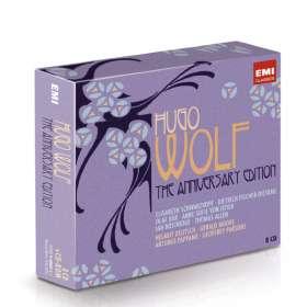 Hugo Wolf (1860-1903): Lieder (The Anniversary Edition), CD