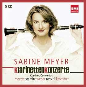 Sabine Meyer spielt Klarinettenkonzerte I, CD